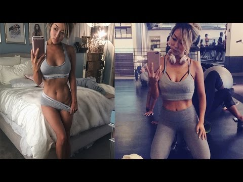 LEG DAY + HOW I STAY LEAN MEAL SHAKE DIET  Arika Sato
