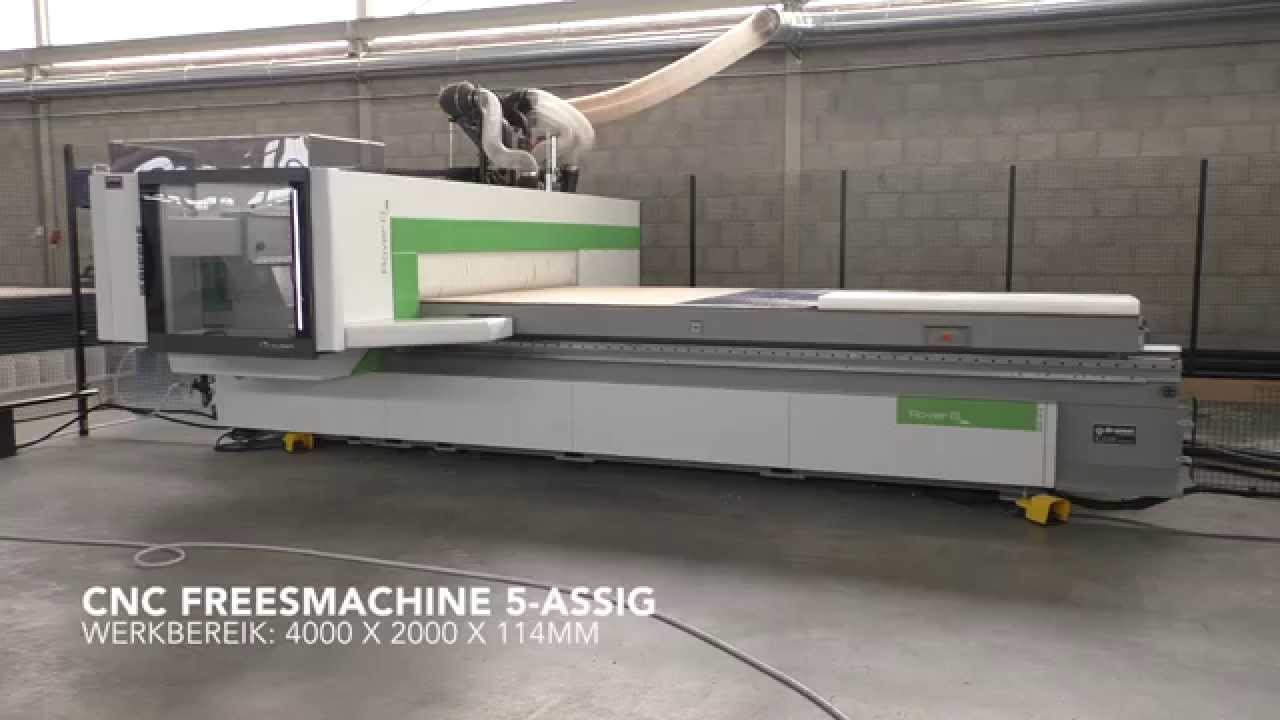 Uitgelezene BXS - 5-assige CNC freesmachine - YouTube QW-63