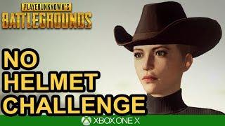 NO HELMET CHALLENGE / PUBG Xbox One X