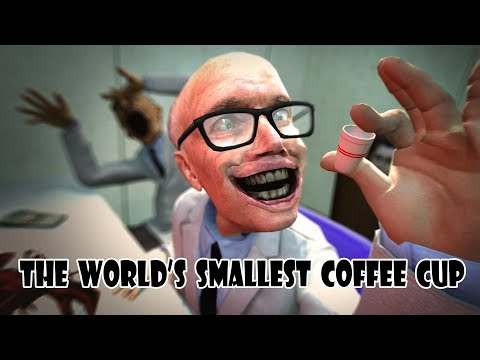 The World's Smallest Coffee Cup