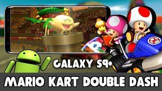 Mario Kart Double Dash on Samsung Galaxy S9+ (Dolphin Emulator Android)