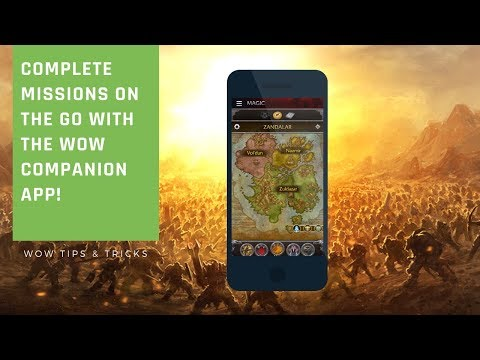 WoW Companion App - Your Mission Table On The Go! | Wow BFA