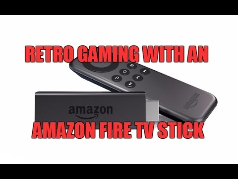 Amazon Fire TV Stick - Playing Retro Games
