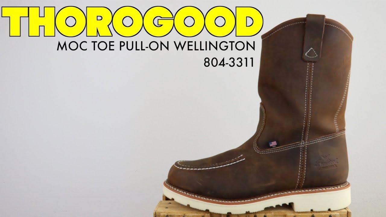 MOC TOE PULL-ON WELLINGTON 804-3311