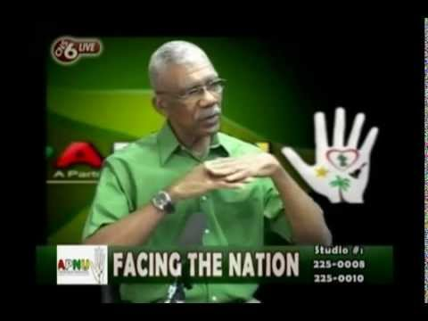 A discussion about human safety with Guyana's Opposition Leader