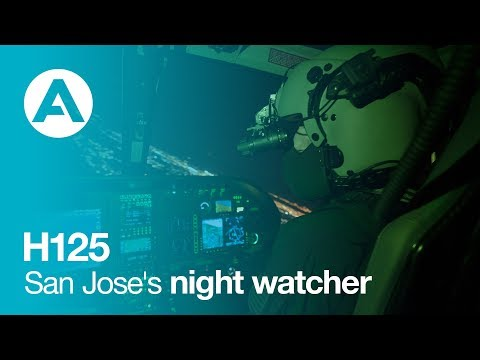 H125 San Jose Police Department's night watcher