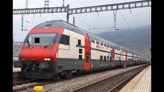 スイス国鉄の特急列車IC [Re460機関車]