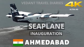 First Seaplane in Gujarat Between Sabarmati Riverfront And Statue of Unity | Vedant Travel Diaries