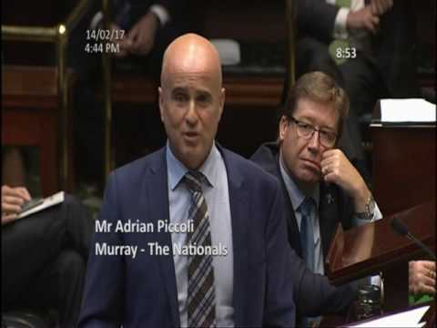 Adrian Piccoli - farewell & thank you speech to NSW Parliament  14.2.17