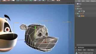 C4D小技巧61 在CINEMA 4D把物件放在同一個空間裡