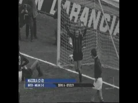 Stagione 1970/1971 - Inter vs. Milan (2:0)