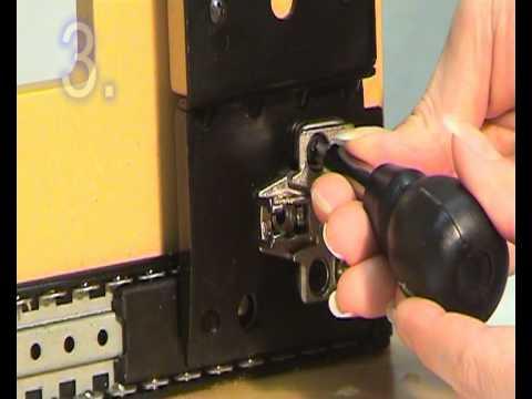 How To Install An Accuride 1234 Pocket Door Slide