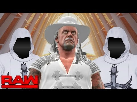 WWE 2K17 Story - Undertaker Becomes Spiritual & Forms Alliance | Universe Mode - RAW 2017 - 02/27/17