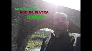 Pod  de piatra turcesc  la  Tetcani - Curaj.TV