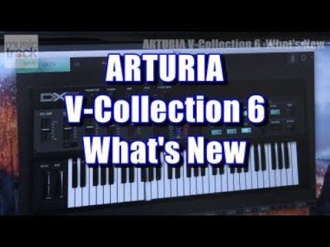"""ARTURIA V-Collection 6 """"What's New"""" Demo & Review"""