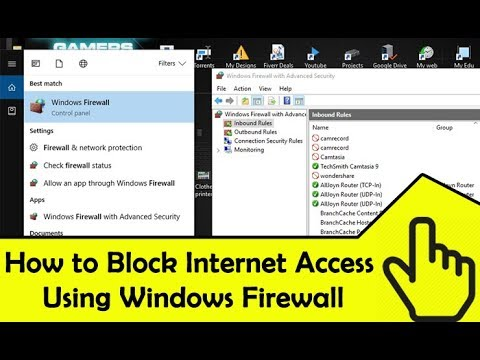 how to block windows 10 update in firewall