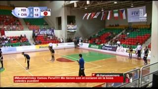 Mundial de Vóley Sub 20: Perú venció 27-25 a China en el tercer set