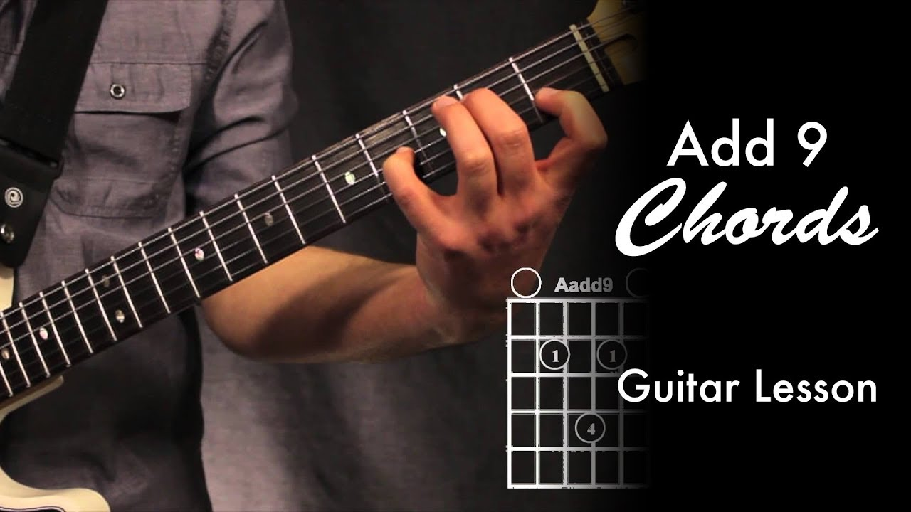 add 9 chords with loop control youtube for musicians