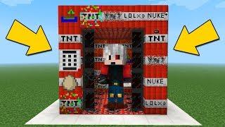 KORKUNÇ TNT ASANSÖRÜNÜ PATLATMAK - Minecraft