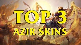 TOP 3 Custom Azir Skins League of Legends