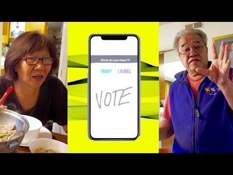 Yanny or Laurel - Asian Parents Vote