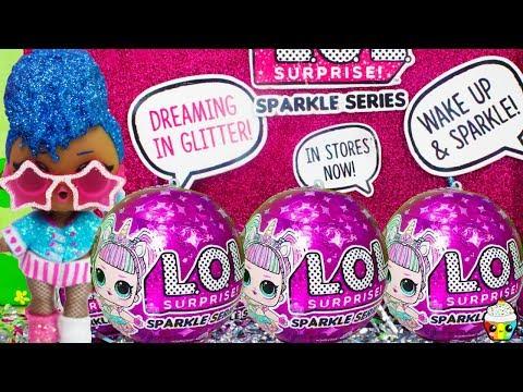 LOL Surprise NEW SPARKLE SERIES! LOL Dolls Get Sparkly Cupcake Kids Club