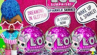 LOL Surprise NEW SPARKLE SERIES! LOL Dolls Get Sparkly Cupcake Kids Club Video