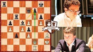 Caruana Se salva de Milagro! | Caruana Vs Keymer | GRENKE Chess Classic (2019)