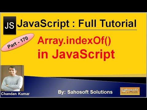 Array indexOf() in JavaScript | JavaScript Full Tutorial in Hindi thumbnail