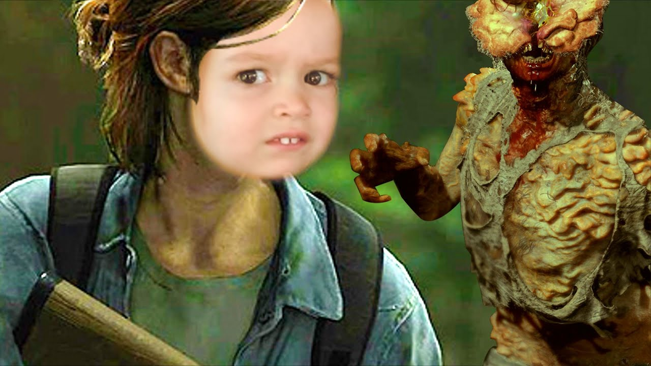 Clickers In The Last Of Us Part 2...