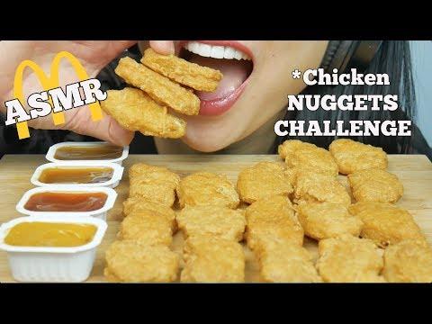ASMR McDonalds Chicken NUGGETS *AuzSOME Austin's* CHALLENGE (EATING SOUNDS) NO TALKING   SAS-ASMR