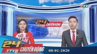 #24hchuyendong #tayninhtv #thoisuhomnay 24h Chuyển động 08-01-2020 | Tin tức hôm nay | TayNinhTV