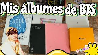 Mis álbumes de BTS😱💜 |Cam Kpoper!| Mi colección de albumes