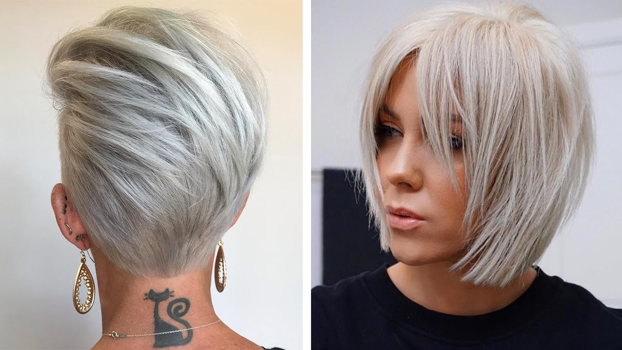 Have A Pixie Cut With Bangs 🤩 10 Ways To Renew Your Hairstyle | Hair By Proffesional
