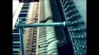 Налаштування піаніно.Tuning piano ''Belarus'' online. maxim_tuner used T - bar.
