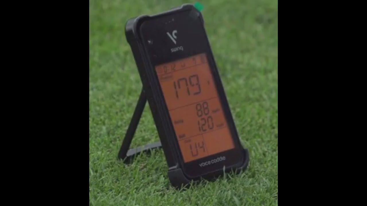 Golf Launch Monitor Swing Caddie Sc100 From Voice Caddie