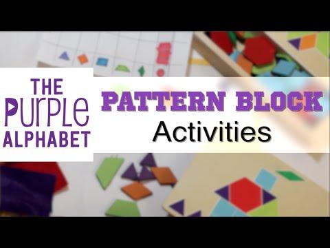 Pattern Block Activities for Kids