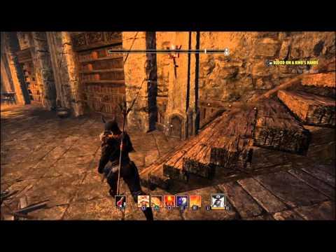 ESO: The Elder Scrolls Online: Tamriel unlimited: blood on the king hands the secret passage