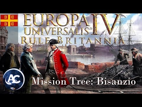 Europa Universalis Rule Britannia: Mission Tree Bisanzio