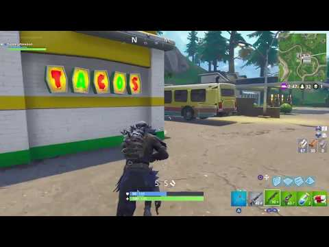 Fortnite: Visit different Taco Shops in a Single Match(Fastest Tutorial)