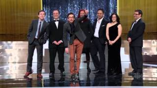 The 2015 Canadian Screen Awards Show
