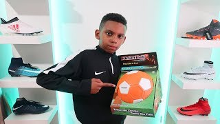OVERPOWERED CURVE Ball Football Challenge | Kailem