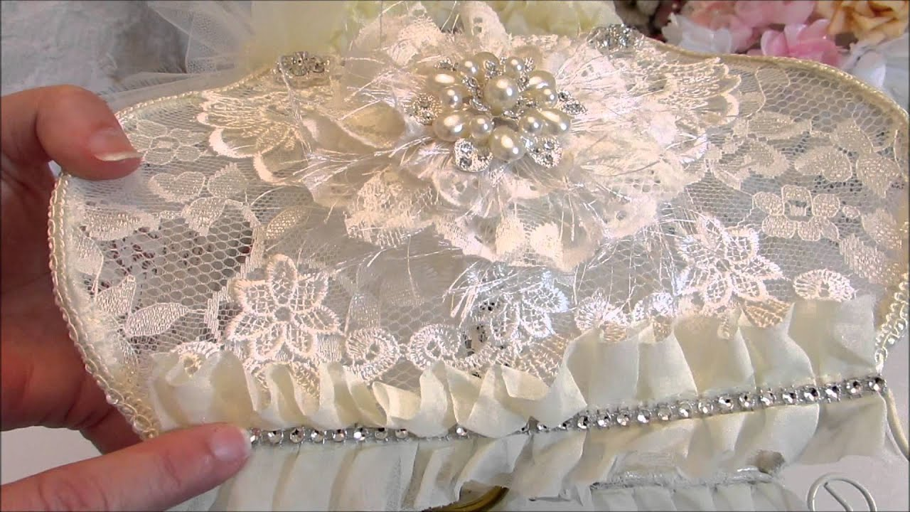 GDT Project for DIY Boutique Supply - Shabby Chic Altered Purse ...