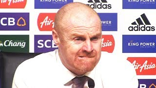 Leicester 0-0 Burnley - Sean Dyche Full Post Match Press Conference - Premier League