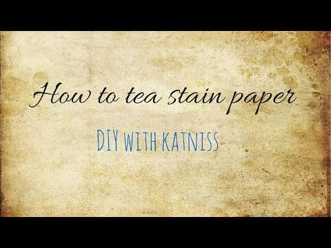 How to age paper using teabagsиз YouTube · Длительность: 2 мин38 с
