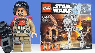 LEGO Изгой-Один и ШАГОХОД! - Набор На Обзор (75153)