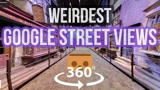 Top 10 Best and Weirdest Google Street View Photos | 360 Video