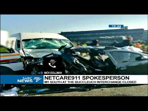One person dead, 17 injured in Johannesburg crash - SABC