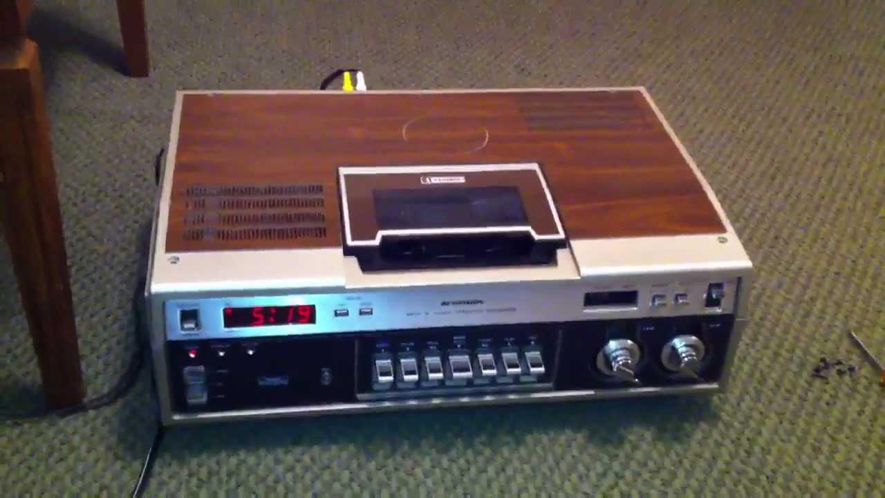 Sears Betamax Vcr From 1979 Aka Sanyo Betacord Model Vtc