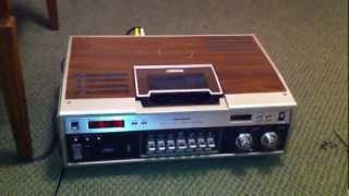 Sears Betamax VCR from 1979 - AKA Sanyo Betacord Model VTC 9100A